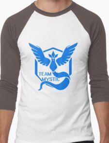 Team Mystic Symbol (Large) Men's Baseball ¾ T-Shirt