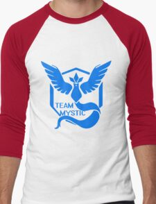 Team Mystic Symbol (Large) Men's Baseball ¾ T-Shirt