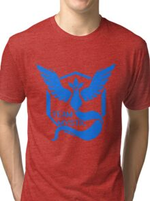 Team Mystic Symbol (Large) Tri-blend T-Shirt