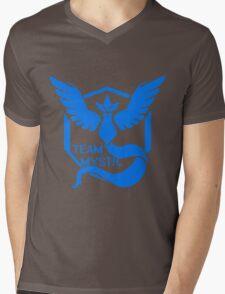 Team Mystic Symbol (Large) Mens V-Neck T-Shirt