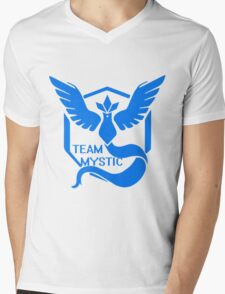 Team Mystic Symbol (Large) Mens V-Neck T-Shirt