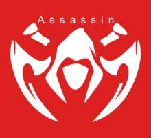 League of legends Assassin design white by kkitkat