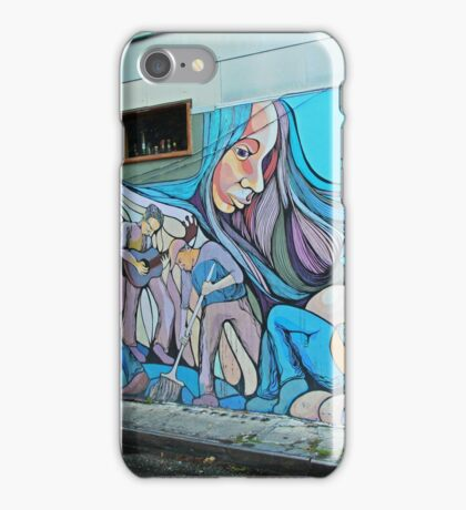 A Mission District Mural iPhone Case/Skin