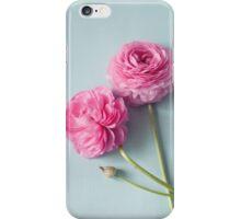 Ranunculus Love  iPhone Case/Skin