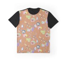 orange pansy Graphic T-Shirt