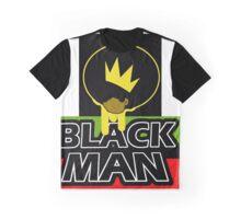 Black Man Graphic T-Shirt