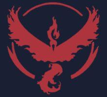 Team Valor Symbol (Small + No Words) Kids Tee
