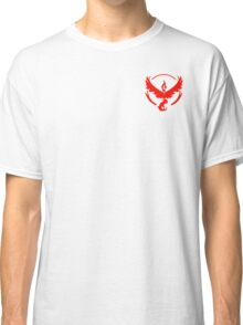 Team Valor Symbol (Small + No Words) Classic T-Shirt