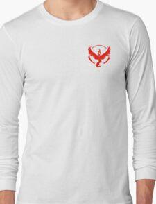 Team Valor Symbol (Small + No Words) Long Sleeve T-Shirt