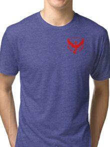Team Valor Symbol (Small + No Words) Tri-blend T-Shirt