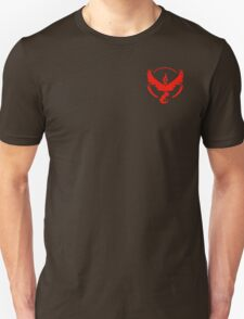 Team Valor Symbol (Small + No Words) Unisex T-Shirt