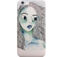Watercolor Girl iPhone Case/Skin
