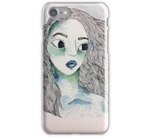 Watercolor Girl iPhone Case/Skin