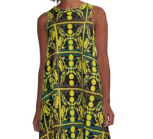 The patterns of thought A-Line Dress