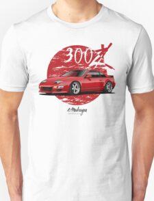 Nissan 300ZX (red) Unisex T-Shirt