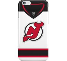 New Jersey Devils Away Jersey iPhone Case/Skin