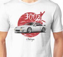 Nissan 300ZX (white / silver) Unisex T-Shirt