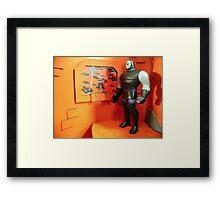 Darkseid of Apokolips Framed Print