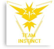 Team Instinct Symbol (Large) Canvas Print