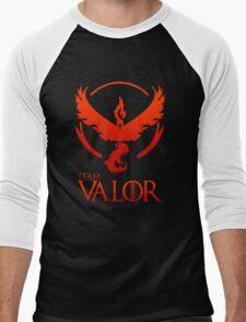 Pokemon Go: Team Valor Men's Baseball ¾ T-Shirt