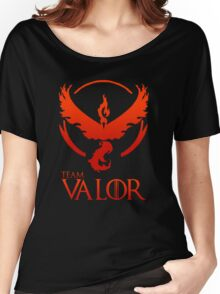 Pokemon Go: Team Valor Women's Relaxed Fit T-Shirt