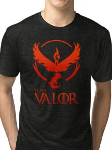 Pokemon Go: Team Valor Tri-blend T-Shirt