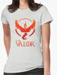 Pokemon Go: Team Valor Womens Fitted T-Shirt