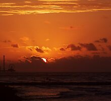 Galveston Sunrise by Robert Brown