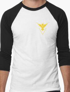 Team Instinct Symbol (Small + No Words) Men's Baseball ¾ T-Shirt