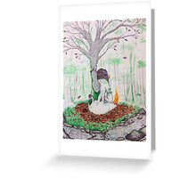 Mother Nature Greeting Card