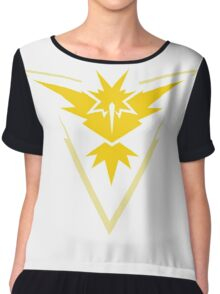 Team Instinct Symbol (Large + No Words) Chiffon Top
