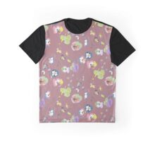 plum pansy Graphic T-Shirt