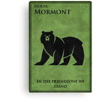 friendzone mormont Canvas Print