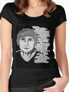 Adrienne Rich - The Stranger Women's Fitted Scoop T-Shirt