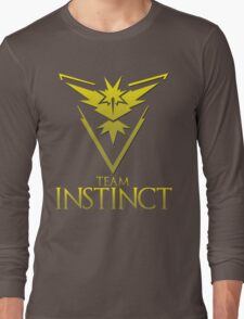 Pokemon Go: Team Instinct  Long Sleeve T-Shirt