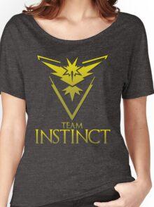 Pokemon Go: Team Instinct  Women's Relaxed Fit T-Shirt