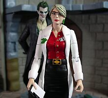 Dr. Harleen Quinzel by thecasimir