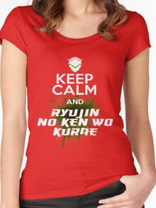 Keep Calm and... Women's Fitted Scoop T-Shirt