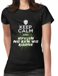 Keep Calm and... Womens Fitted T-Shirt