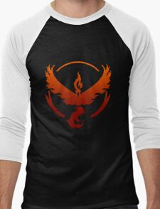 Team Valor Logo Men's Baseball ¾ T-Shirt