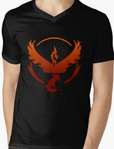 Team Valor Logo Mens V-Neck T-Shirt