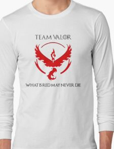 Team Valor Design - Pokemon GO Long Sleeve T-Shirt