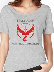 Team Valor Design - Pokemon GO Women's Relaxed Fit T-Shirt