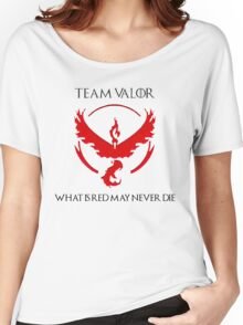 Team Valor Design - Pokemon GO Women's Relaxed Fit T-Shirt
