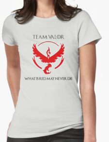 Team Valor Design - Pokemon GO Womens Fitted T-Shirt