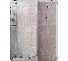old lock and wood iPad Case/Skin