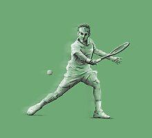 Roger Federer by Ben Farr