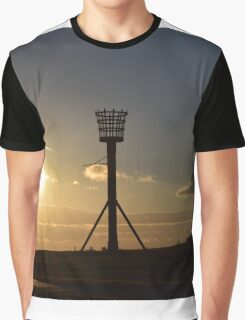 Medieval Fire Basket Graphic T-Shirt