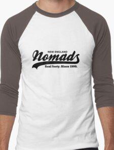 Real footy. Since 1999. (Black) Men's Baseball ¾ T-Shirt
