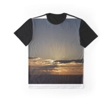 Sunset through the clouds Graphic T-Shirt